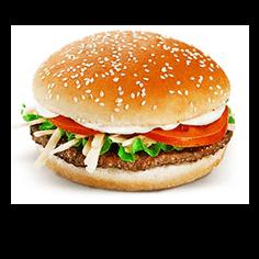 Лаки Бургер. Фирменный стиль и рекламные материалы
