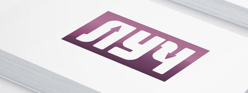 Создание логотипа для группы компании Луч