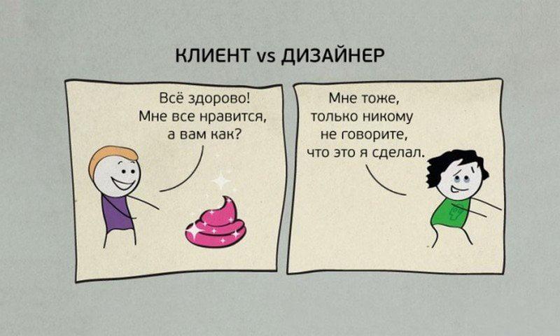 Клиент и Дизайнер