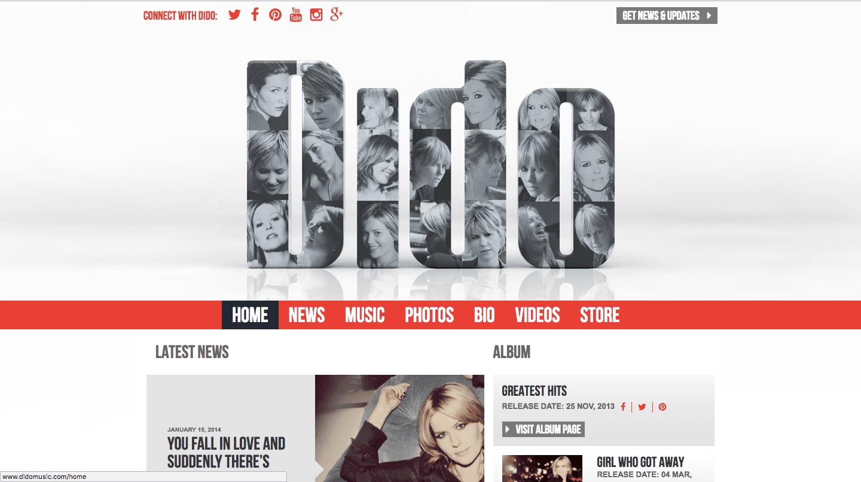 Сайт на wordpress Dido