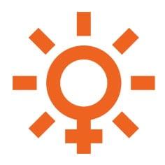Создание логотипа для женского фитнес клуба Солнце